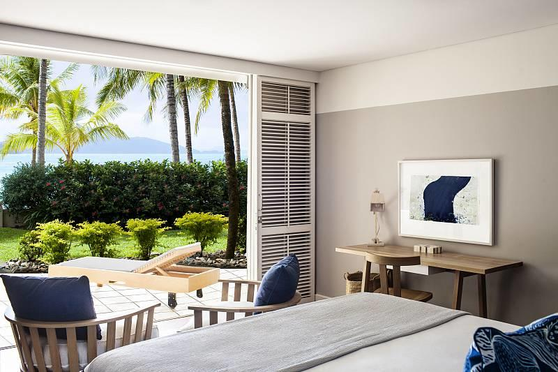 Beach club hamilton island accommodation for Rooms interior design hamilton nz